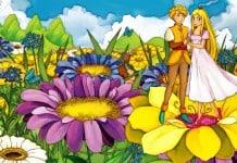 Prinsessen kleurplaat voorbeeld