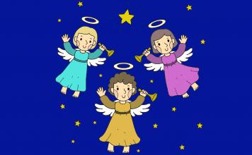 Voorbeeld christelijke kleurplaat
