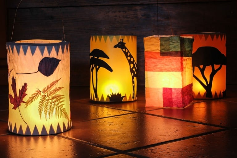 Lampionnen voor Sint Maarten