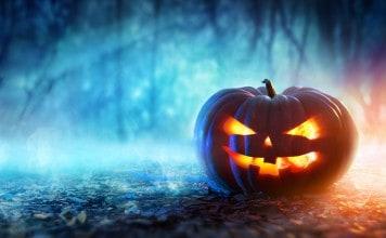 Enge halloween pompoen