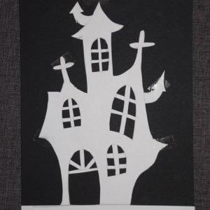 Halloween spookhuis maken stap2