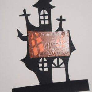 Halloween spookhuis maken stap 4