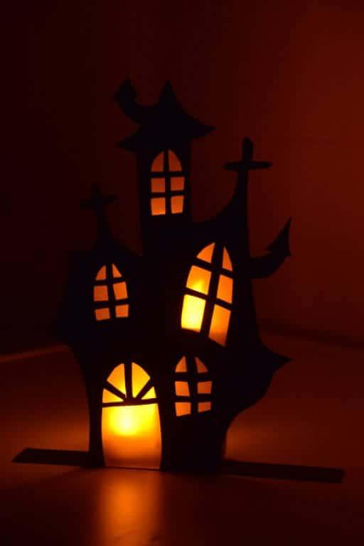 Spookhuis halloween maken