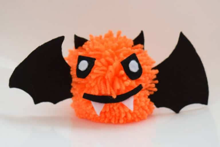 Vampier pompon halloween