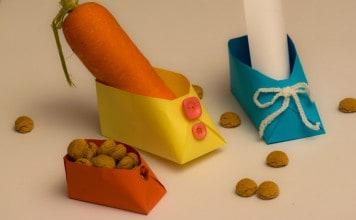 Schoentjes maken voor Sinterklaas