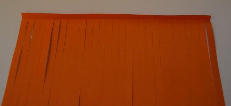 stap 2 papier snijden