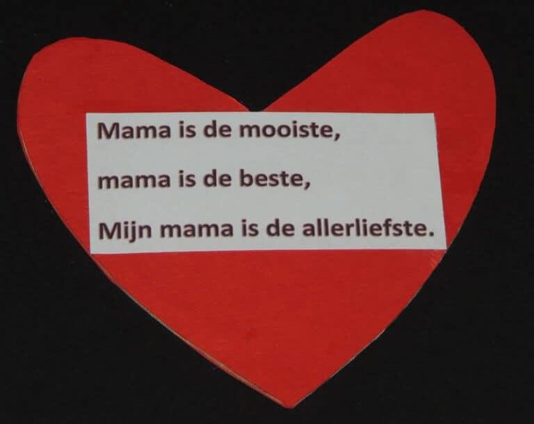 hartje voor moederdag