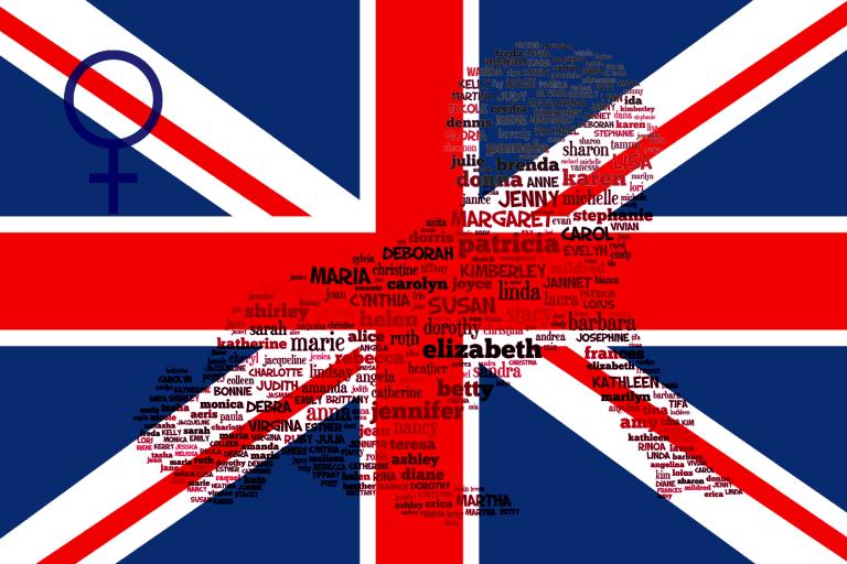 Engelse meisjesnamen