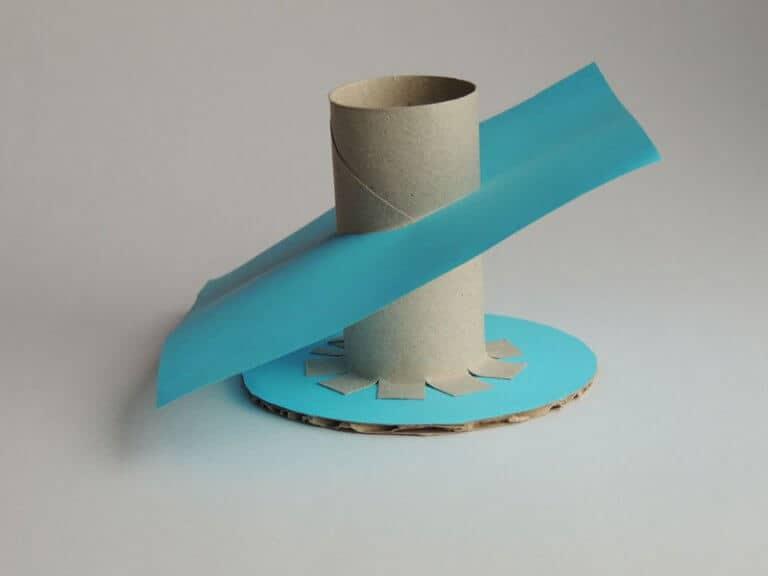 pennenbakje knutselen stap 2