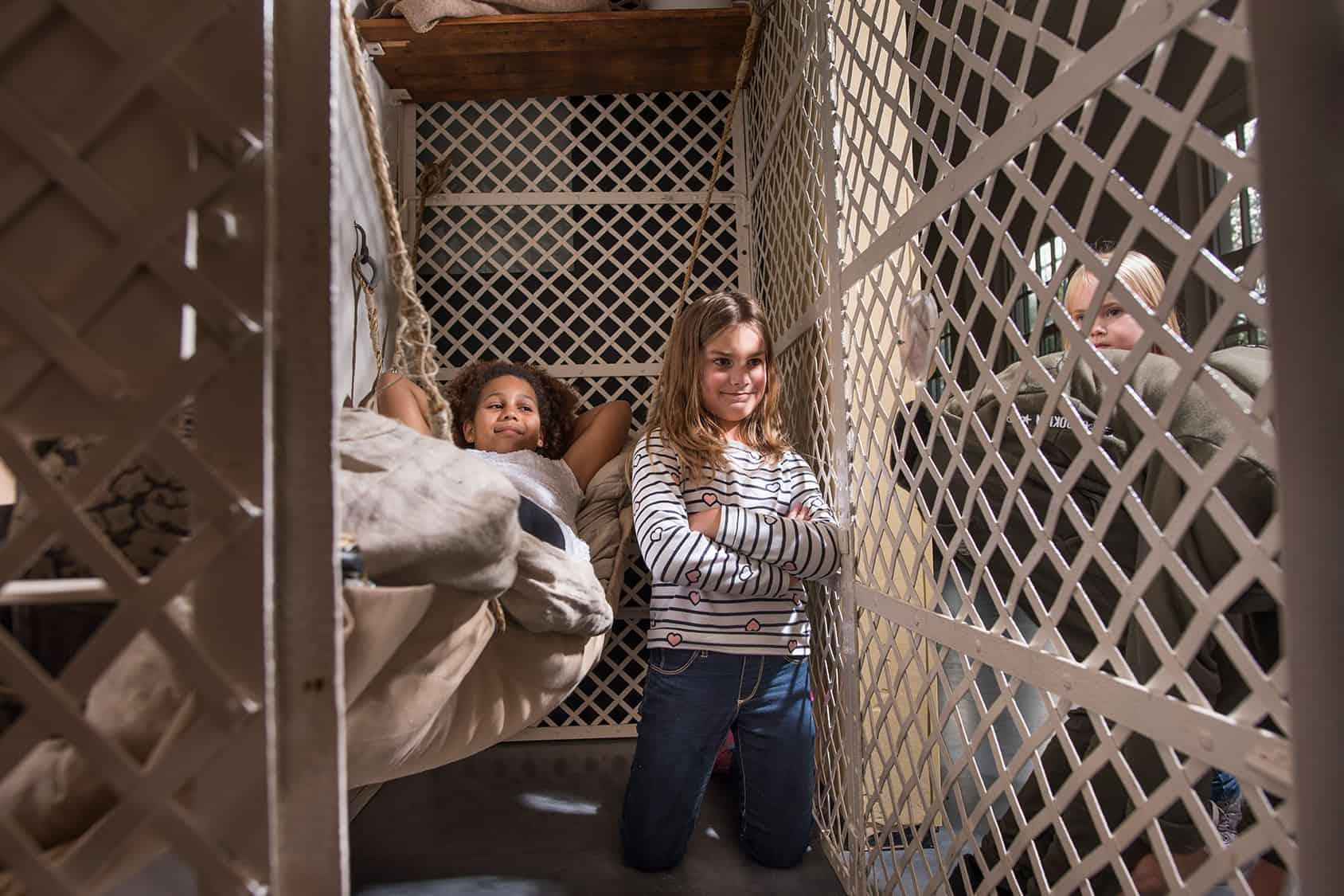 Kinderen in gevangenis museum