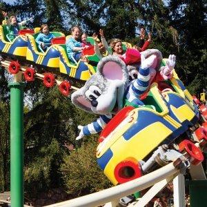 Achtbaan Juls Rollerskates in Julianatoren