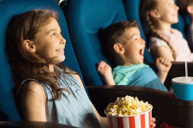 Kinderen in de bioscoop
