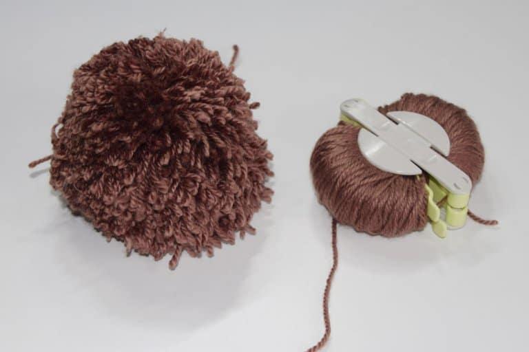 Tweede pompon maken