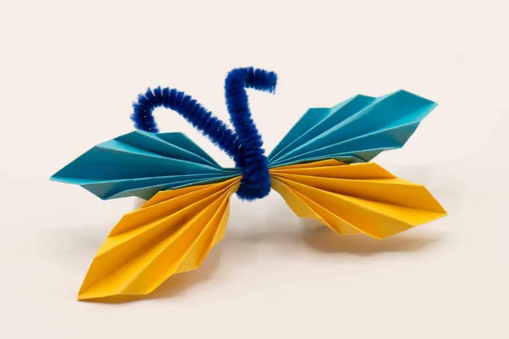 Vlinder zelf maken