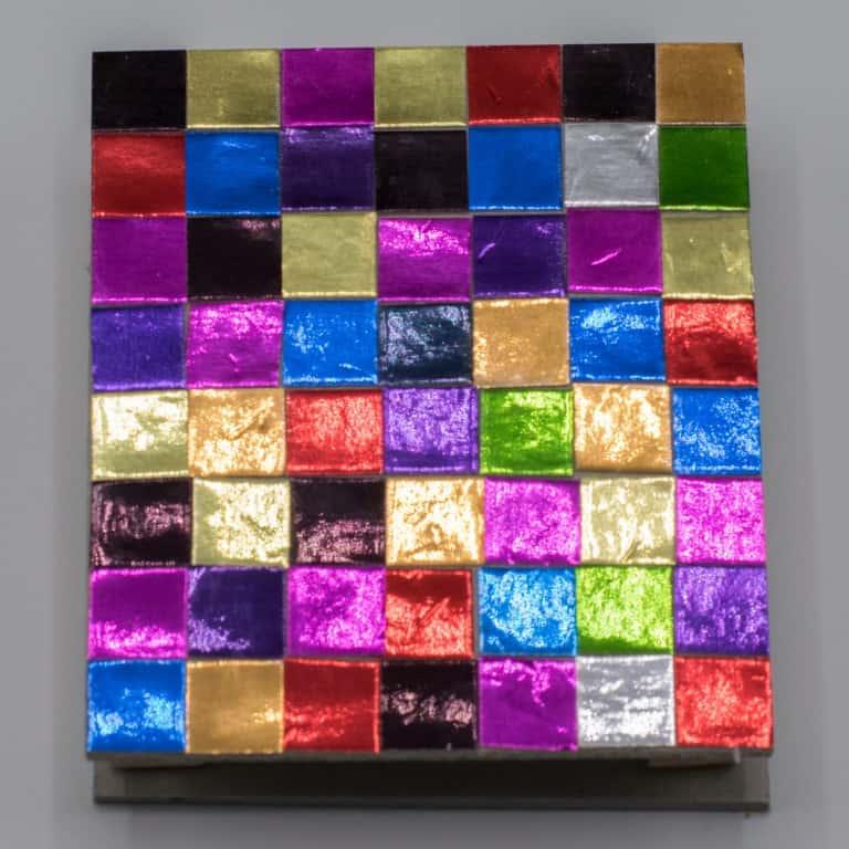 Mozaiek patroon memoryhouder maken