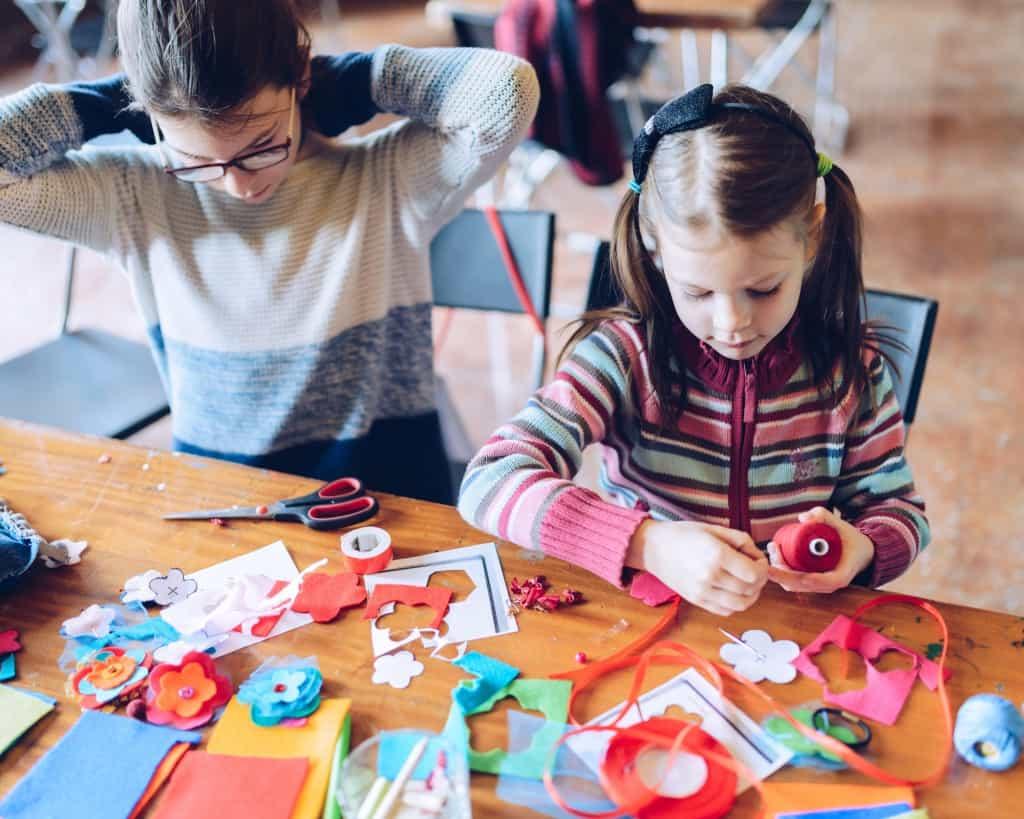 Creatieve workshop kinderen