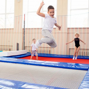 Jumpen in een jumpsquare
