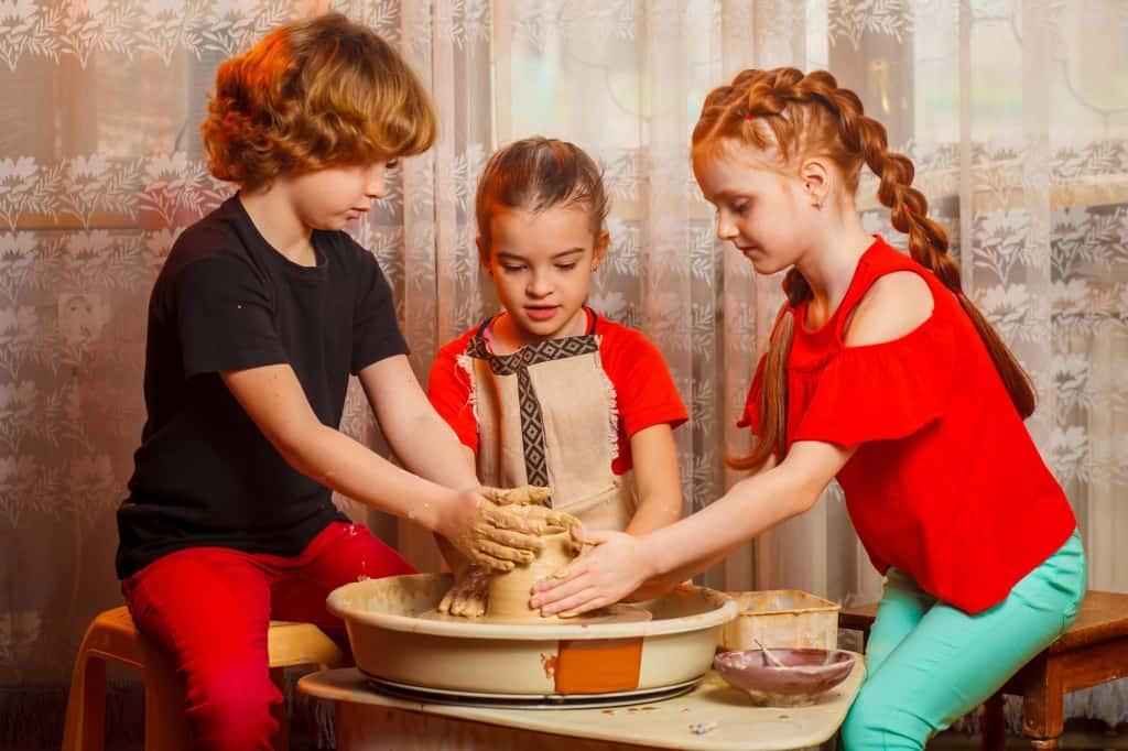 Workshop pottenbakken voor kinderen
