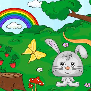 Kleuren op nummer kind voorbeeld